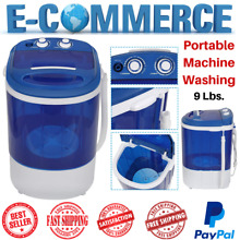 Portable Semi Automatic Mini Wash Machine For Compact Laundry With Timer Control