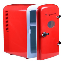 Frigidaire Portable Retro 6 can Mini Fridge EFMIS129  Red