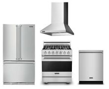 Viking Value Package  36  Refrigerator  30  Gas Range  Hood   Dishwasher