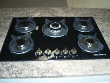30   Tempered Glass Stove Built in 5 Burners Cooktop NG LPG Gas Hob Cooker