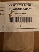 004835 000 Viking Microwave Magnetron NEW
