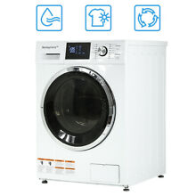 New Midea 2 7 Cu  Ft  Combination Washer Dryer Combo Ventless