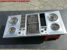VINTAGE JENN AIR ELECTRIC STOVE TOP DOWNDRAFT BLOWER 5 RANGE STAINLESS STEEL 47