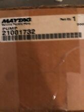 Drain Pump for Maytag Washer 21001732 NEW OEM Not Aftermarket