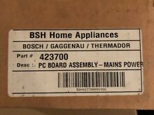 423700 00423700 Bosch Microwave Control Board NEW