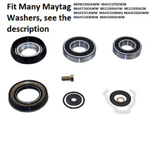 For Maytag Neptune Washer Front Loader Bearings Seal Washer Kit Replacement