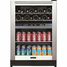 Magic BTWB530ST1 Dual Zone Built in Wine And Beverage Cooler