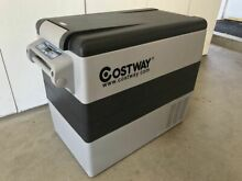 Costway 54 Quarts Portable Electric Car Cooler Refrigerator NEW FREE SHIP