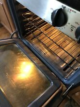 Ge Profile Stainless Convection Gas Stove Good Condition