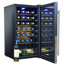 PREMIUM NewAir Silent Wine Refrigerator 27 Bottle in Stainless Steel  BRAND NEW