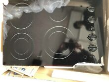 GE JP931BH1BB Profile 30  Cooktop  Black Ceramic   Broken New