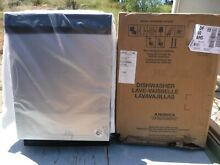 New Whirlpool 24  Stainless Full Console Dishwasher Model WDF330PAHS
