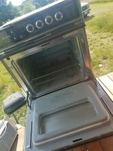 Double electrical oven ge black