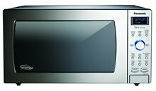 Panasonic NN SD775S 1 6 Cu Ft Cyclonic Wave Stainless Front   Silver Body Dial