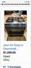Jenn Air Drop In Downdraft Convection Range good condition  500OBO LocalP U ONLY
