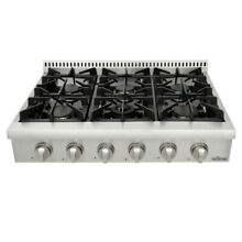 Thor 36  Kitchen Stainless Steel Gas Cooking Range Top Counter Stove 6 Burners