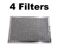 Microwave Hood Grease Filter Compatible for AP3883320 PS1018833 G 5012   4 PACK