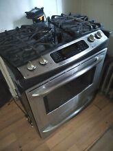 Stainlees Gas Cooker with oven