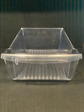 FRIGIDAIRE REFRIGERATOR CRISPER DRAWER PAN CLEAR   PART  240351061 2403510