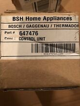 New Bosch Dishwasher Control  647476 NEW