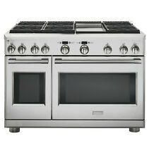 Monogram 48  Professional Dual Fuel Range with Griddle   ZDP486NDNSS
