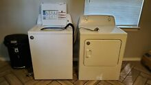 Used White Roper Washer Dryer Set Good Condition