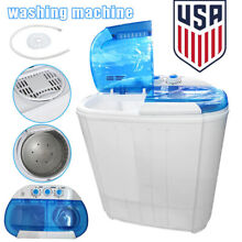 Compact Portable Mini Washing Machine Spin Dryer Two Use Home Apartments Washer
