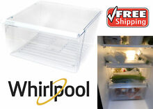 Genuine OEM Whirlpool WP2188656 Replacement Upper Crisper Bin New Free Shipping