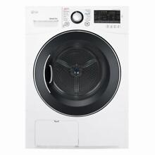 LG 4 2 cu ft Stackable Ventless Electric Dryer  White NEW