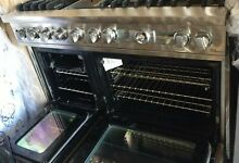 Viking Professional 48  Stainless Steel 6 burners Griddle Gas Range VDSC548T6Q