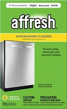6 Tablets Dishwasher Cleaner Formulated to Clean Inside All Machine Models