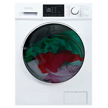 Danby DWM120WDB 3 2 7 cu  ft  All In One Ventless Washer Dryer Combo  White