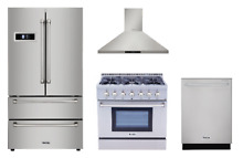 Thor Value Appliance Package with 36  Dual Fuel Range