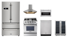Thor 5 Piece Kitchen Set With Sharp Microwave Oven