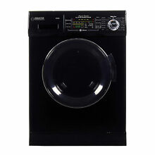 Equator EZ4400 All In One Combination Ventless Home Washer Dryer Unit  Black