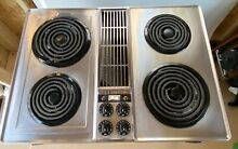 Jenn Air Downdraft  Cooktop C202 W  NEW grill and griddle grates sealed