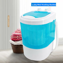 2 in 1 Mini Washing Machine Clothes Laundry Dryer Small Portable Washer Dorm