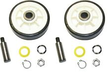 Dryer Wheel Drum Support Roller Kit for Maytag MDE5500AYW MDE4000AYW MDE6000AYW