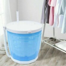2 in 1 Portable Mini Traveling Washing Machine Compact Manual Washer Spin Dryer