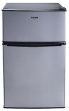Mini Fridge Small Refrigerator Freezer 3 1 CU FT Two Door Compact Stainless Cool