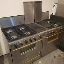 FiveStar 60  Stainless Steel Range Double Oven  Hood  and Blower