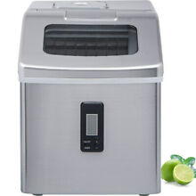 Ice Maker for Countertop Sonic Ice Maker Machine 26 lbs 24hrs 2 4 lb Ice Bin