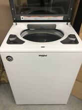 New Smart Capable Whirlpool 4 8 Cu ft Top loading washer with latest features