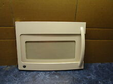 GE MICROWAVE DOOR CREAM PART  WB56X10899