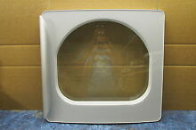 GE GAS DRYER DOOR PART   WE10X10018