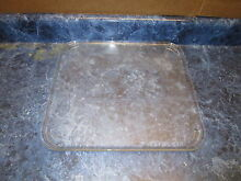 KENMORE MICROWAVE GLASS TRAY PART  11513