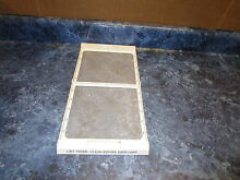 GE DRYER LINT FILTER PART  WE18X52