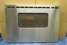 FRIGIDAIRE RANGE OVEN DOOR PANEL STAINLESS PART   316079300