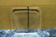 KENMORE MICROWAVE GLASS TRAY PART   500188