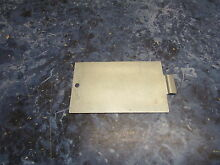 KENMORE DRYER TERMINAL BLOCK COVER PART  3204250